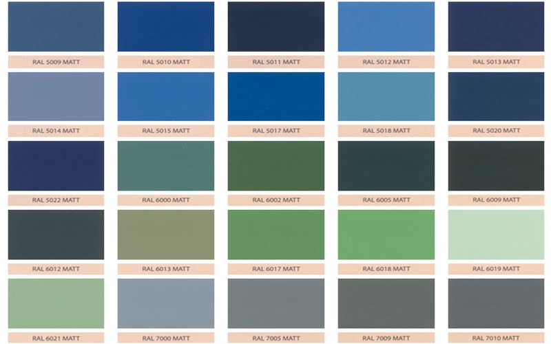 electrostatic painting colours matt series. Black Bedroom Furniture Sets. Home Design Ideas