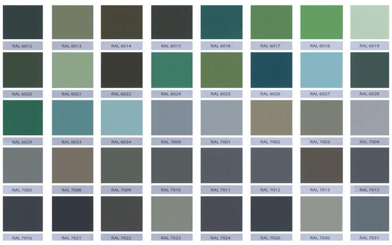 Paint For Metal Ral Colours